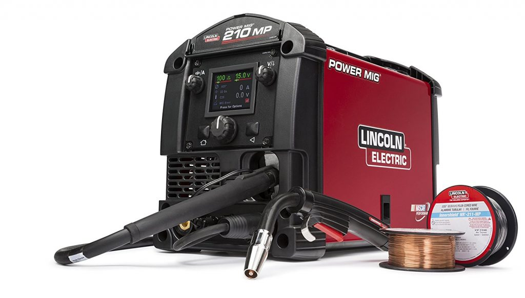 lincoln electric power mig 210 mp review